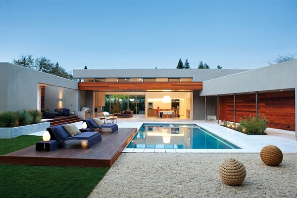 view in gallery - Backyard Swimming Pool Designs
