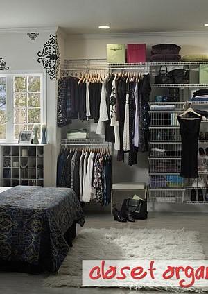 modern closet organization