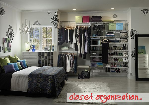 modern closet organization Tips for Tackling Closet Organization