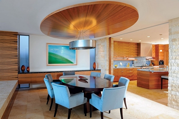 Dining room decorating ideas 19 designs that will inspire you for Dining room ceiling designs