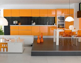 Decorating With Orange: How to Incorporate a Risky Color, Tastefully