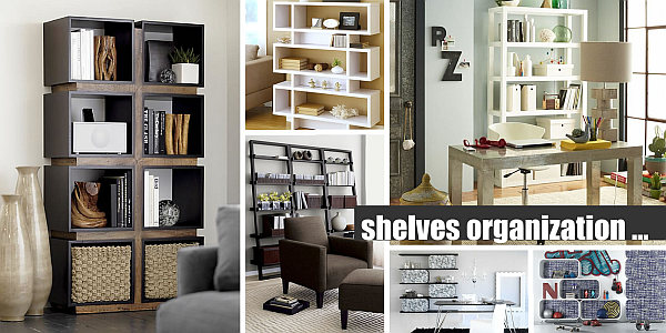 modern shelves organization 25 Modern Shelves to Keep You Organized in Style