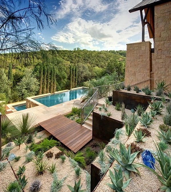 modern villa with hillside landscaping and infinity pool Sonoran Desert 3 Home Decor Inspiration from the Sonoran Desert