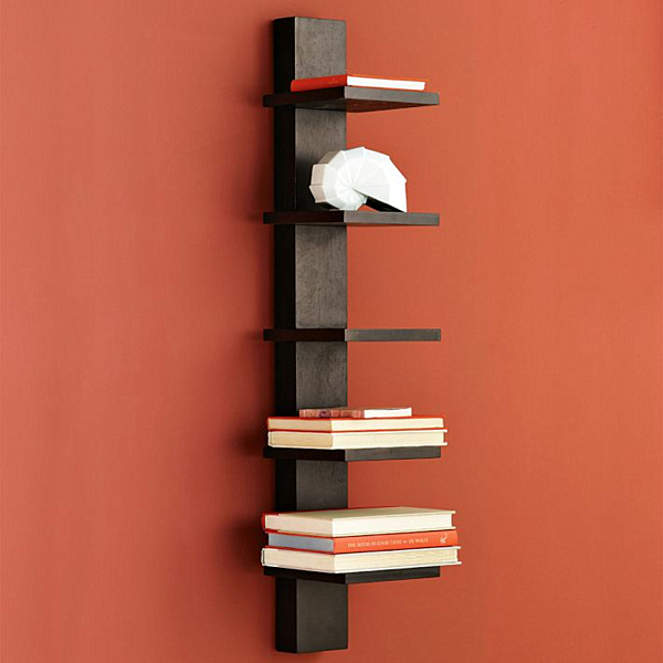 Wall Hanging Bookshelves 25 modern shelves to keep you organized in style