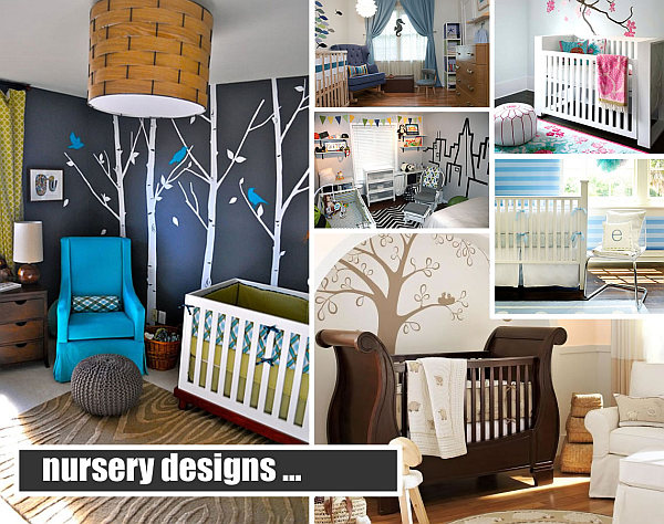 nursery designs 25 Modern Nursery Design Ideas