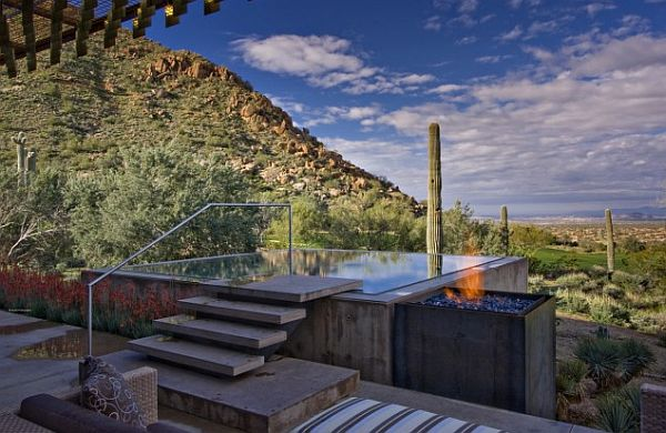 personal winter residence for art collection – Sonoran Desert 10
