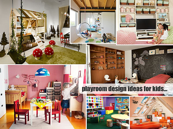 20 playroom design ideas - Small space playroom ideas ...
