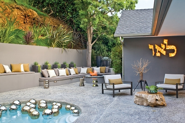 Unique pool design for small yards joy studio design gallery best design - How to create a small outdoor oasis ...