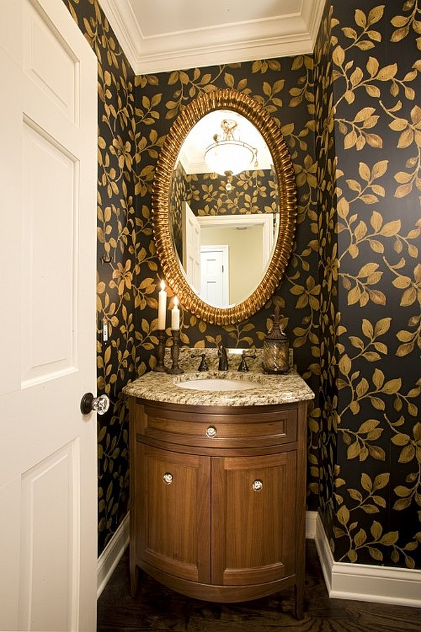 Guest Bathroom Powder Room Design Ideas Photos - Powder bathroom ideas