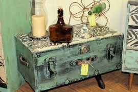 Repurposing and Rejuvenating Furniture with Appliqués