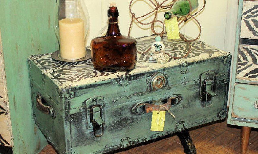 Repurposing and Rejuvenating Furniture with Appliqués