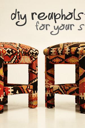 reupholstering stools