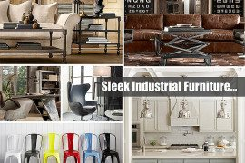 sleek industrial furniture