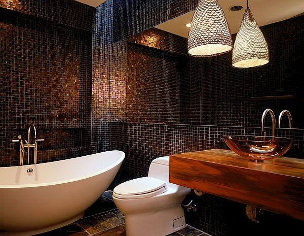 19 tastefully elegant bathroom designs for Bathroom tile designs 2012