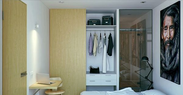 space saving wonderful small apartment design 5