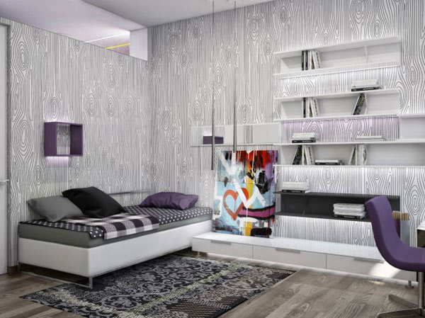 spacious modern ukranian apartment 12 – contemporary bedroom decorating