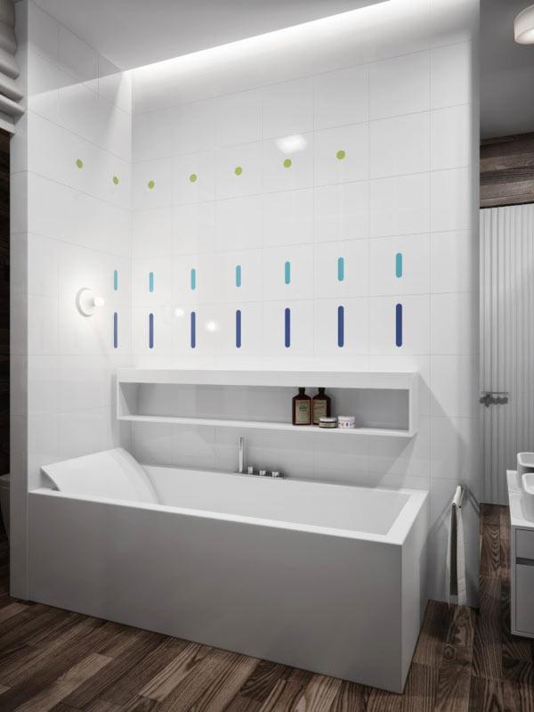 spacious modern ukranian apartment 18 – white luxury bathroom