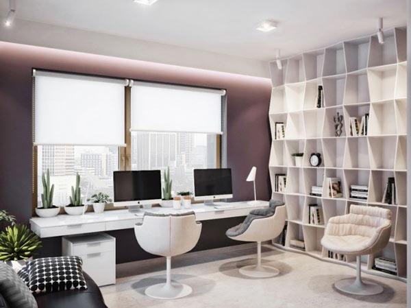 Luxurious Apartment In Ukraine Showcases Sleek