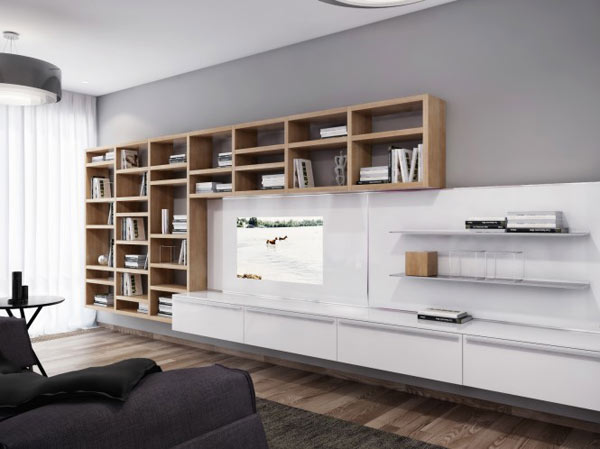 spacious modern ukranian apartment 5 – wall unit furniture