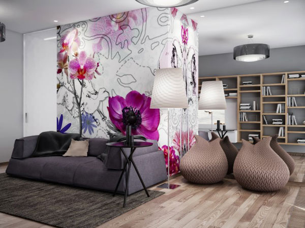 spacious modern ukranian apartment 6 – relaxing area with sofa