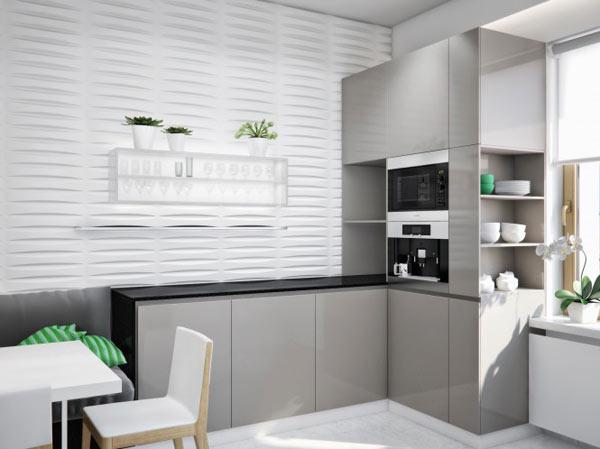 spacious modern ukranian apartment 9 – luxury kitchen design