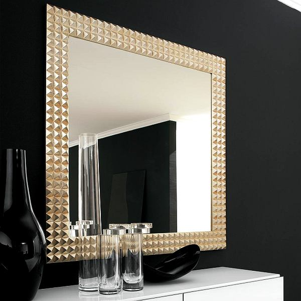 Stylish modern mirror design decoist - Wall mirror modern design ...