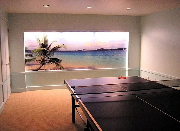 table tennis entertainment room