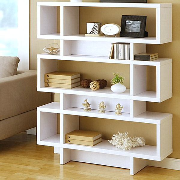 25 modern shelves to keep you organized in style. Black Bedroom Furniture Sets. Home Design Ideas