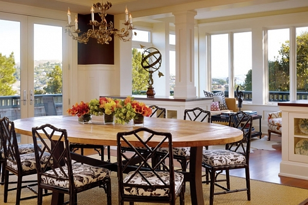 Dining room decorating ideas 19 designs that will inspire you for Dining room decorating ideas rustic