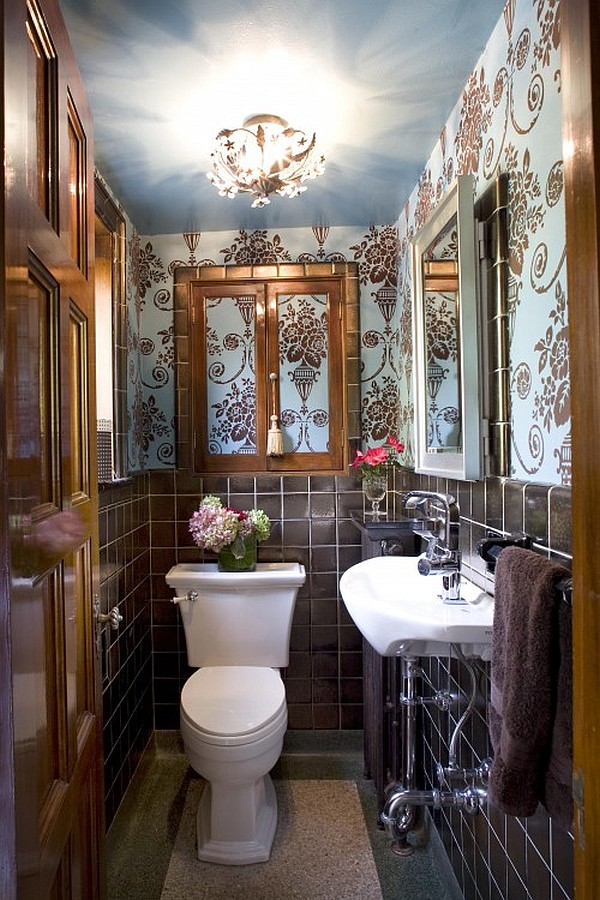 Guest Bathroom Powder Room Design Ideas Photos - Small powder room designs