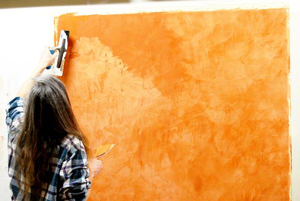 using venetian plaster