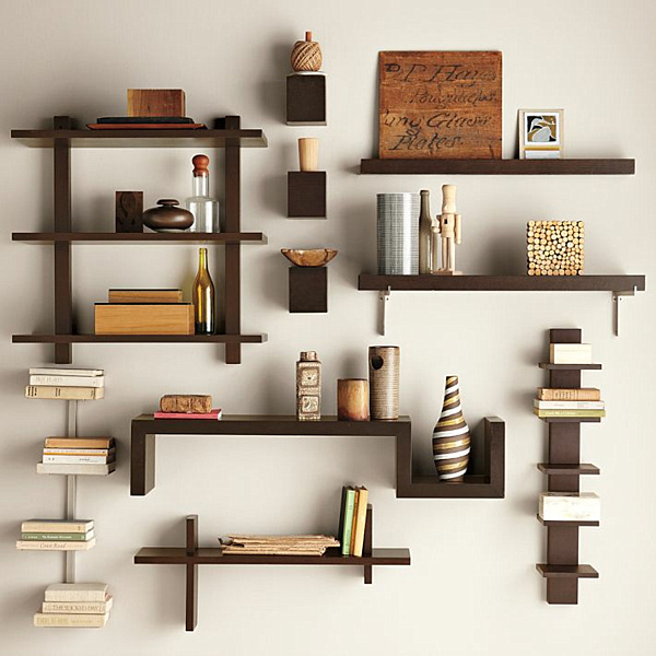 wall mounted shelves - Wall Hanging Book Shelf