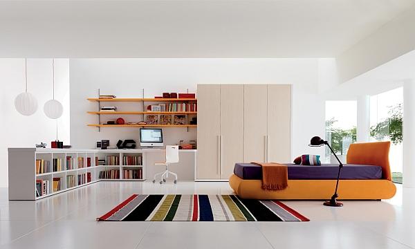 white-bedroom-design-ideas-with-orange-bed