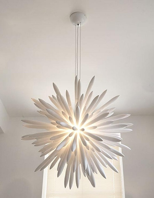white chandelier design idea Choosing the Right Chandelier: 18 Contemporary Ideas to Inspire