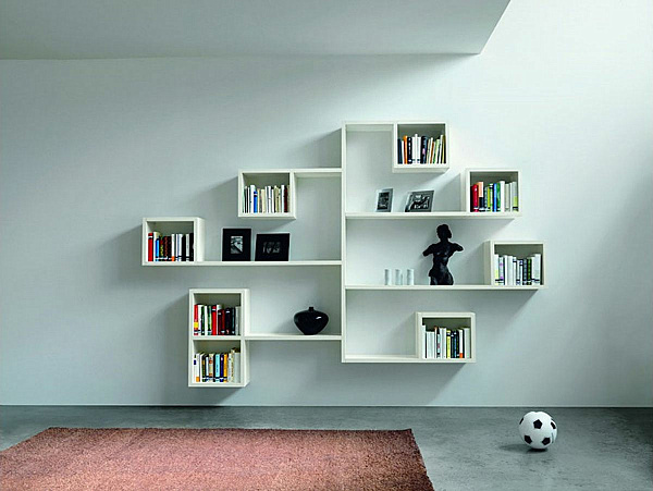 Modern Bookshelf Design 25 modern shelves to keep you organized in style