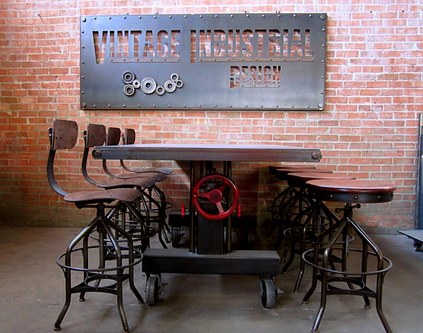 25 Sleek Industrial Furniture Finds