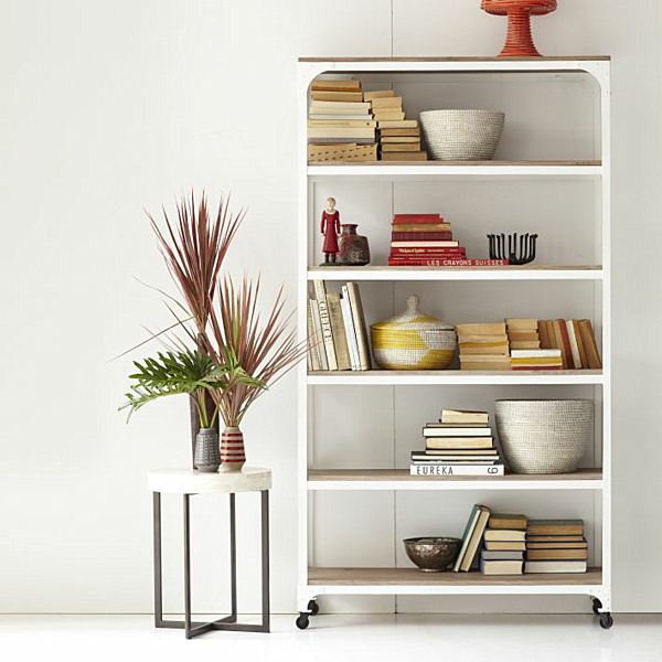 Metal Book Shelves ~ Modern shelves to keep you organized in style