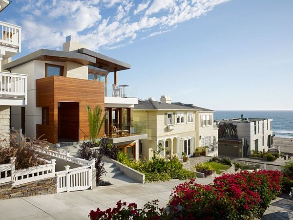 33 Street Residence Manhattan Beach California 4 Beach House in California Draws Inspiration From South East Asia