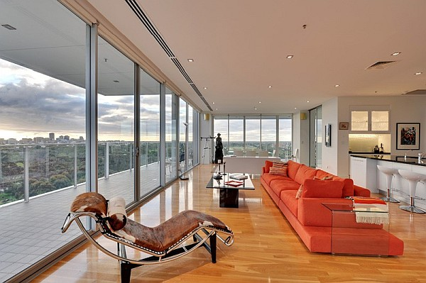 Air Apartment Sub Penthouse - stunning living room