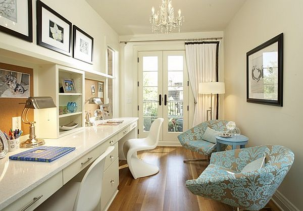 Tips to make the most of your home office space - Creating a small home office ...