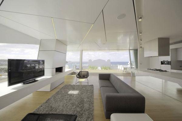 Bondi-Penthouse-white luxury living room