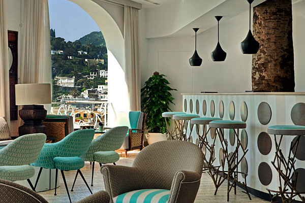 Capri Tiberio Palace Hotel Design Decoist 1 Capri Tiberio Palace: Enjoy the Mediterranean with Some Old World Charm