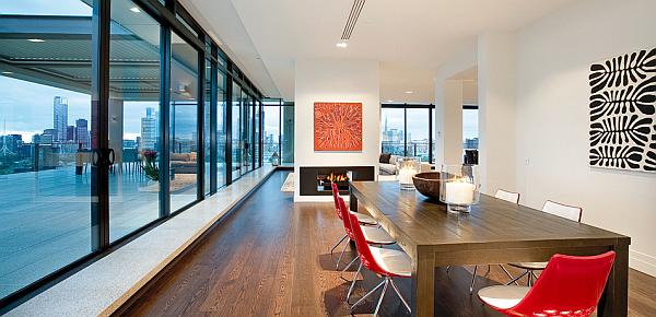 Penthouse chuck bass k che mit esszimmer - Moderne esszimmer ideen 2012 ...
