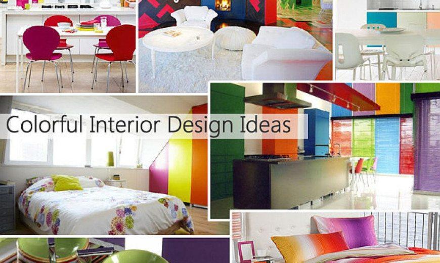 Rainbow Designs: 20 Colorful Home Decor Ideas