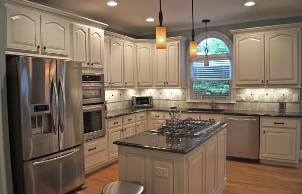 Creative Kitchen Cabinets And Faux Finishes