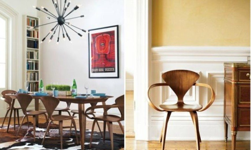 Curvy Cherner Chair: A Design That Transcends Time