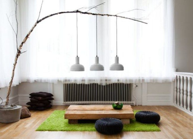 DIY Branch Pendant Lamps Get a Helping Hand From Nature