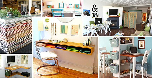 Genial 18 DIY Desks To Enhance Your Home Office