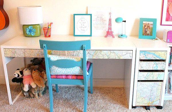 18款DIY家庭办公书桌(转载) - 大卫 - 峰回路转