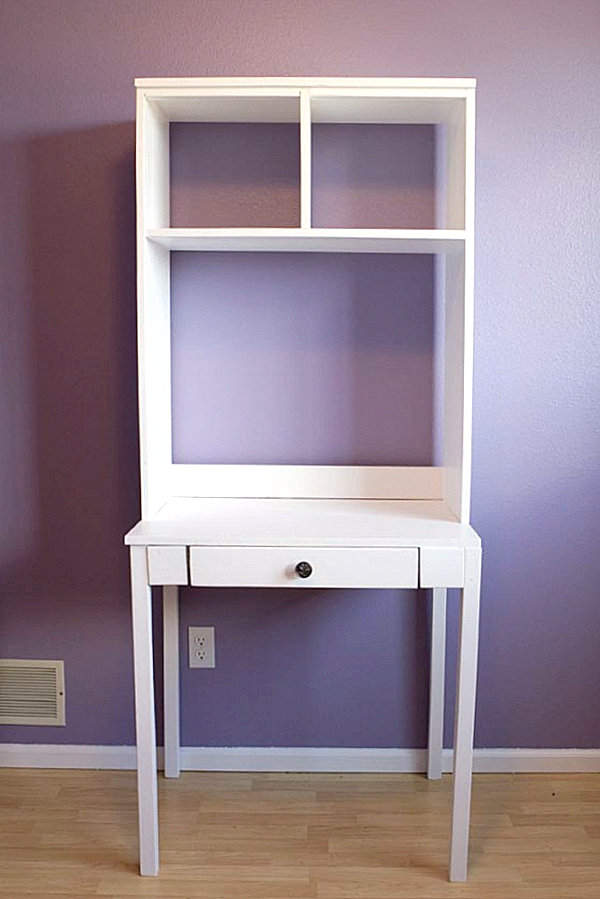 DIY hutch desk